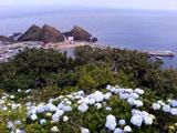 竜飛岬からの眺め