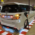 TSY-Factoryのヴェルファイア「光の宝石箱」はLEDがスゴいことになってた! - TSY-Factory札幌カスタムカーショー2012_06