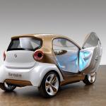 ダイムラーとBASFのドイツ連合が開発した全身で発電する自給自足のEV? - smart forvision