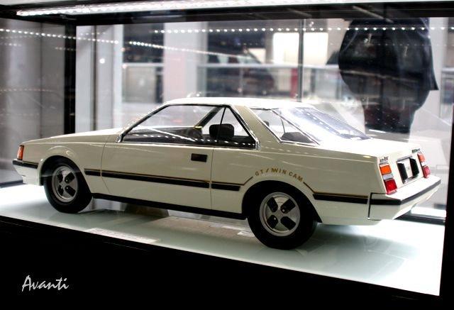 「トヨタが創立75周年で歴代車100台展示 ! 1/5デザインモックも !」の27枚目の画像