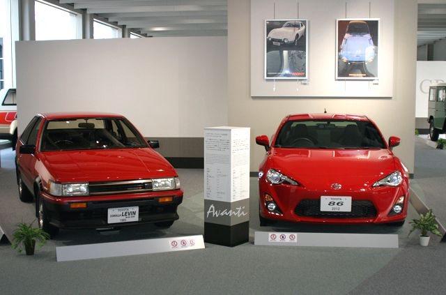 「トヨタが創立75周年で歴代車100台展示 ! 1/5デザインモックも !」の9枚目の画像