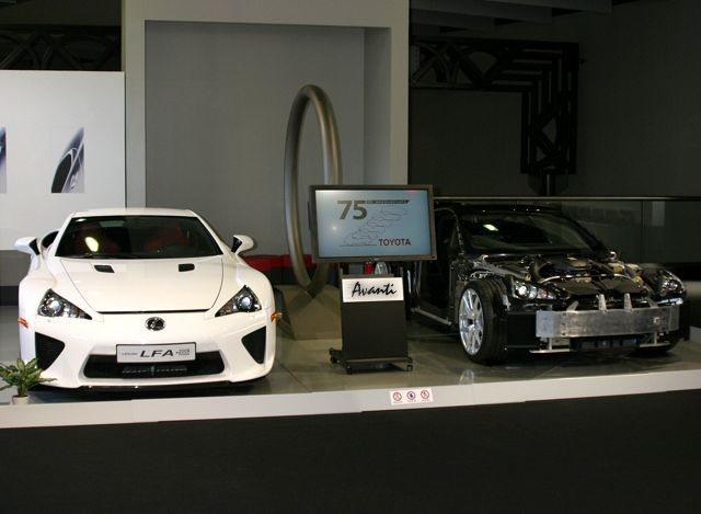 「トヨタが創立75周年で歴代車100台展示 ! 1/5デザインモックも !」の13枚目の画像