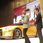 ウサイン ボルトはGT-Rも金! ゴールドNISSAN GT-Rはオークションに出品!! - BOLT GOLD GT-R_5