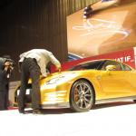 ウサイン ボルトはGT-Rも金! ゴールドNISSAN GT-Rはオークションに出品!! - BOLT GOLD GT-R_6