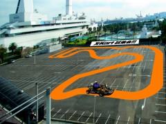 X-kart船の科学館試乗会