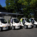 トヨタが「COMS」で環境に優しい「パーク&ライド」実証開始 ! - トヨタ Ha:mo RIDE