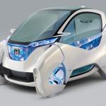 ホンダが超小型モビリティ電気自動車「マイクロコミューター プロトタイプ」を公開 - MICRO COMMUTER CONCEPT