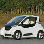 ホンダが超小型モビリティ電気自動車「マイクロコミューター プロトタイプ」を公開 - MICRO COMMUTER PROTOTYPE