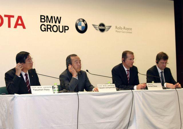 トヨタ・BMW共同記者会見