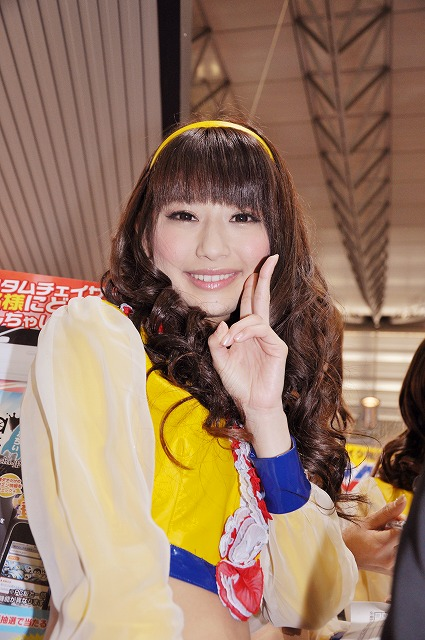 日本レースクイーン大賞2012日野礼香ちゃん画像集【東京オートサロン2013】