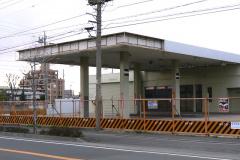 廃業したガソリンスタンド