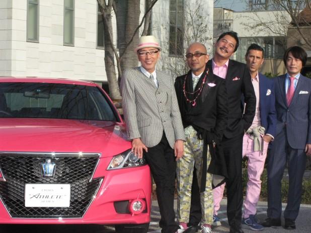 ピンクのクラウンオヤジ_2