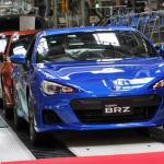 自動車業界への「アベノミクス」効果は今後も期待できるのか? - スバルBRZ生産工場
