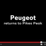 【動画】プジョーがパイクスピークに帰ってきます。ドライバーはセバスチャン・ローブ! - peugeotreturnpikespeak2
