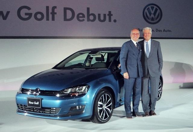 新型ゴルフ発表会