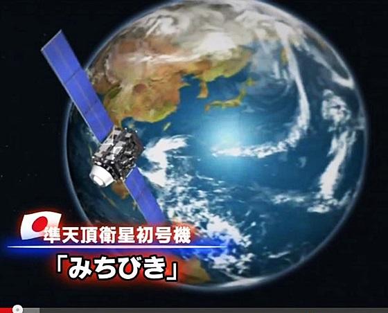 JAXA 準天頂衛星 「みちびき」