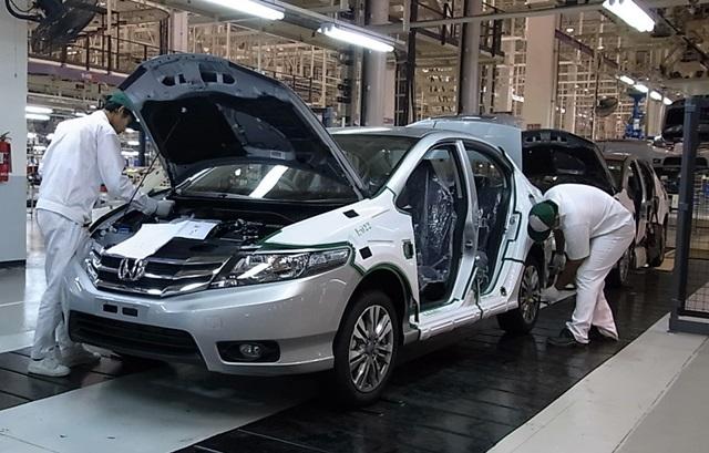 ホンダ 車両組立工場