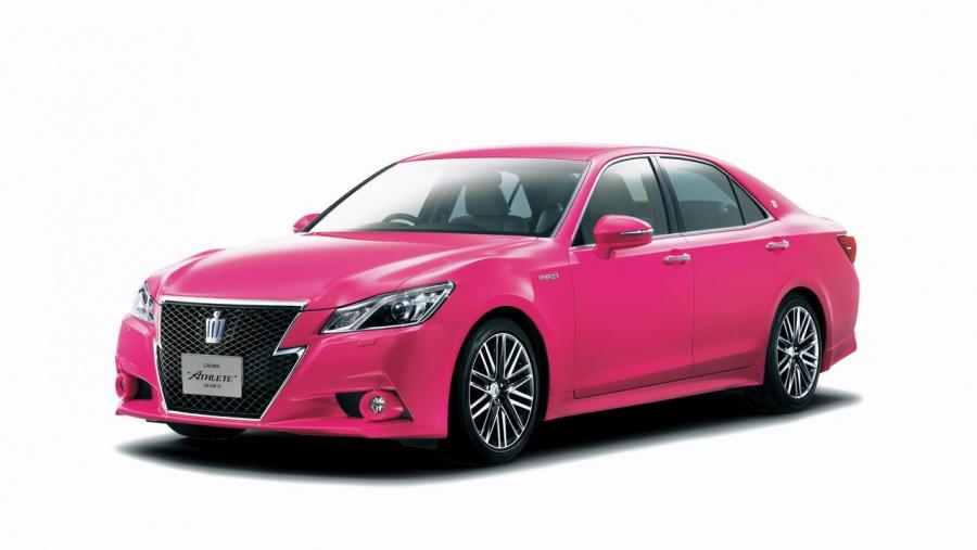 ピンククラウン価格は570〜600万円! 特別色の呼び名はモモタロウ!!