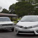 トヨタ・カローラ累計4000万台達成、日米欧どのモデルがお好み? - clr40_08