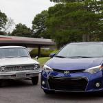 トヨタ・カローラ累計4000万台達成、日米欧どのモデルがお好み? - clr40_10