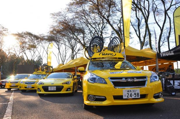 自転車の 自転車 中古 富士 : 黄色いBRZ等で富士重工、2013 ...