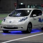 日産リーフ、自動運転は技術の蓄積が可能にした【CEATEC JAPAN 2013】 - automous_leaf