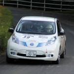 国沢光宏さんの電気自動車、日産リーフがラリーで優勝!【車載動画あり】 - l02