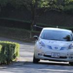国沢光宏さんの電気自動車、日産リーフがラリーで優勝!【車載動画あり】 - l03