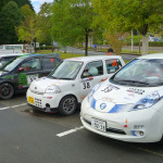 国沢光宏さんの電気自動車、日産リーフがラリーで優勝!【車載動画あり】 - l04