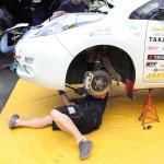 国沢光宏さんの電気自動車、日産リーフがラリーで優勝!【車載動画あり】 - l05
