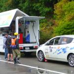 国沢光宏さんの電気自動車、日産リーフがラリーで優勝!【車載動画あり】 - l07