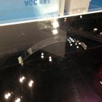 [動画]曲げても割れない旭硝子の薄いガラス【東京モーターショー2013】 - AGC01