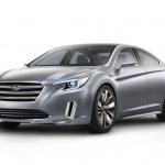 新型レガシィ、コンセプトで登場【ロスアンゼルスオートショー2013】 - Legacy Concept front on high