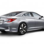 新型レガシィ、コンセプトで登場【ロスアンゼルスオートショー2013】 - Legacy Concept rear on high