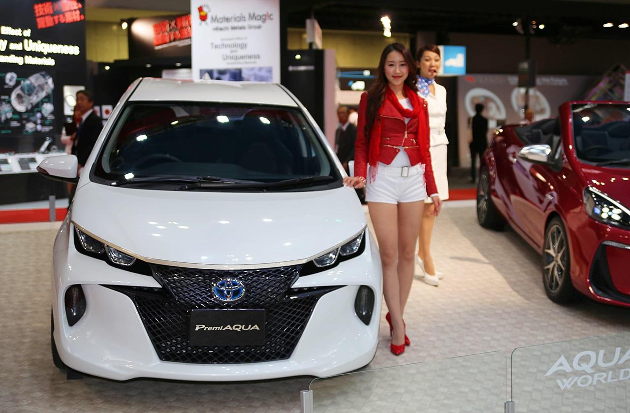 トヨタ「アクア」のコンセプトカー4種類を出展 【東京モーターショー2013】   Toyota Aqua