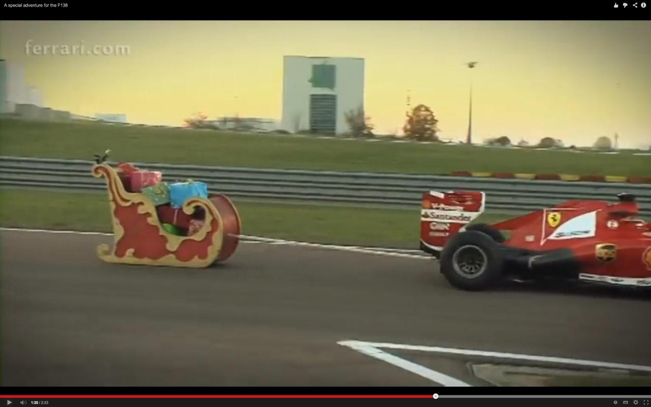 F1 ferrari christmas 03 for Ferrari christmas