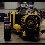 レゴで作ったエンジンで動く、人が乗れる自動車【動画】 - Lego_Car_01