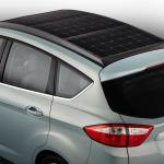 太陽光発電で充電できるフォードのハイブリッドカー【CES2014】 - C-MAXSolarEnergi_08_HR