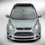 太陽光発電で充電できるフォードのハイブリッドカー【CES2014】 - C-MAXSolarEnergi_12_HR
