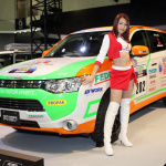 発売前の軽自動車、三菱「eKスペース」をカスタマイズ出展!【東京オートサロン2014】 - MITSUBISHI