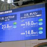 トヨタのミニバン新型「ノア/ヴォクシー」登場! ハイブリッドの燃費はリッター23.8km!! - NOAH VOXY02