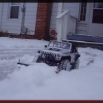 雪かきRCカーがカワイイ!【動画】 - RC_On_Snow_02