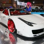 【東京国際カスタムカーコンテスト2014】インポートカー部門最優秀賞はセクシーヒップのフェラーリ458! - c22