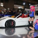 【東京国際カスタムカーコンテスト2014】インポートカー部門最優秀賞はセクシーヒップのフェラーリ458! - c25