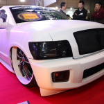 【東京国際カスタムカーコンテスト2014】SUV部門最優秀賞は巨大ホイールのUNIVERSALAIR 5せんと - c28