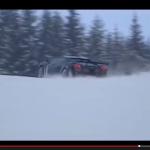 ランボルギーニ・ガヤルドは雪上を走れるのか?【動画】 - Gallardo_Ski_02