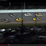 米レースでオフィシャル車からまさかの出火!【動画】 - Pacecar_Fire_01