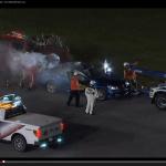 米レースでオフィシャル車からまさかの出火!【動画】 - Pacecar_Fire_03