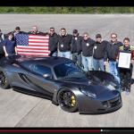 市販車最速記録ヘネシー・ヴェノムGTが時速435.31キロで更新!【動画】 - Venom_435_01