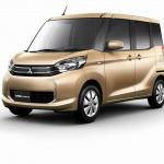 三菱の新型軽自動車「eKスペース」登場、カスタムはミニデリカ? - Image converted using ifftoany